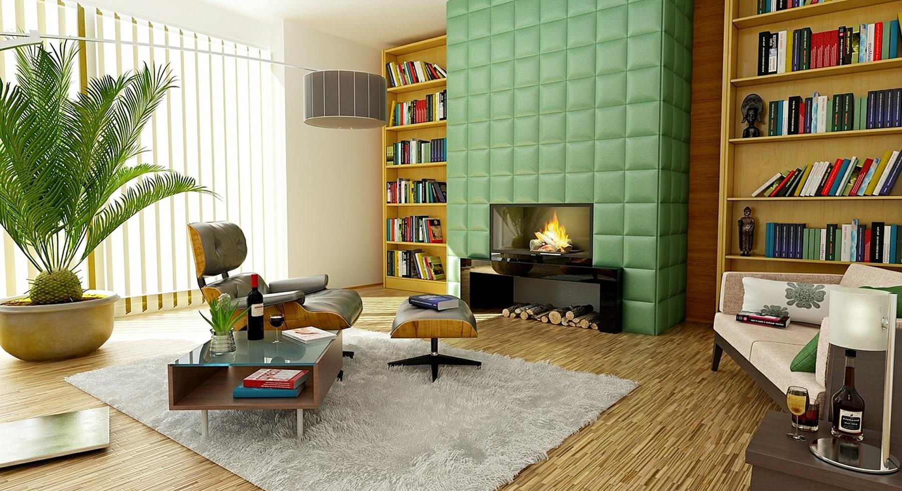 Wohnzimmer individuell renoviert